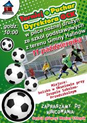 Turniej o Puchar Dyrektora GCK w piłce nożnej drużyn ze szkół podstawowych z terenu Gminy Halinów