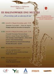 III Halinowskie Dni Muzyki