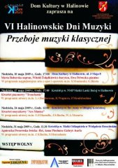 VI Halinowskie Dni Muzyki
