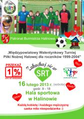 Międzypowiatowy Walentynkowy Turniej Piłki Nożnej