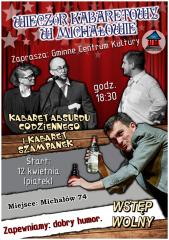 Kabaret Absurdu Codziennego i kabaret Szampanek