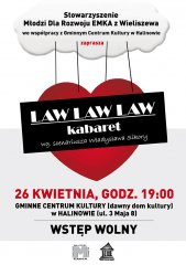 Law Law Law 2013 kabaret