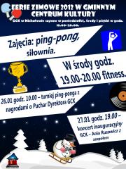 Ferie 2012 w GCK Michałów