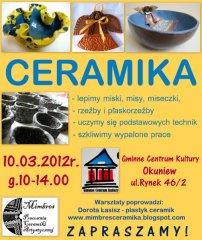 Warsztaty - Ceramika