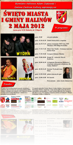 Święto Miasta i Gminy Halinów 2 maja 2012