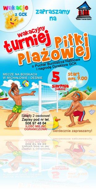 net-plakat-pilka-plazowa-michalow-wakacje-gck-2017