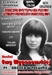 Recital Ewy Wyganowskiej pt.