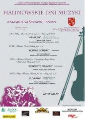 I Halinowskie Dni Muzyki
