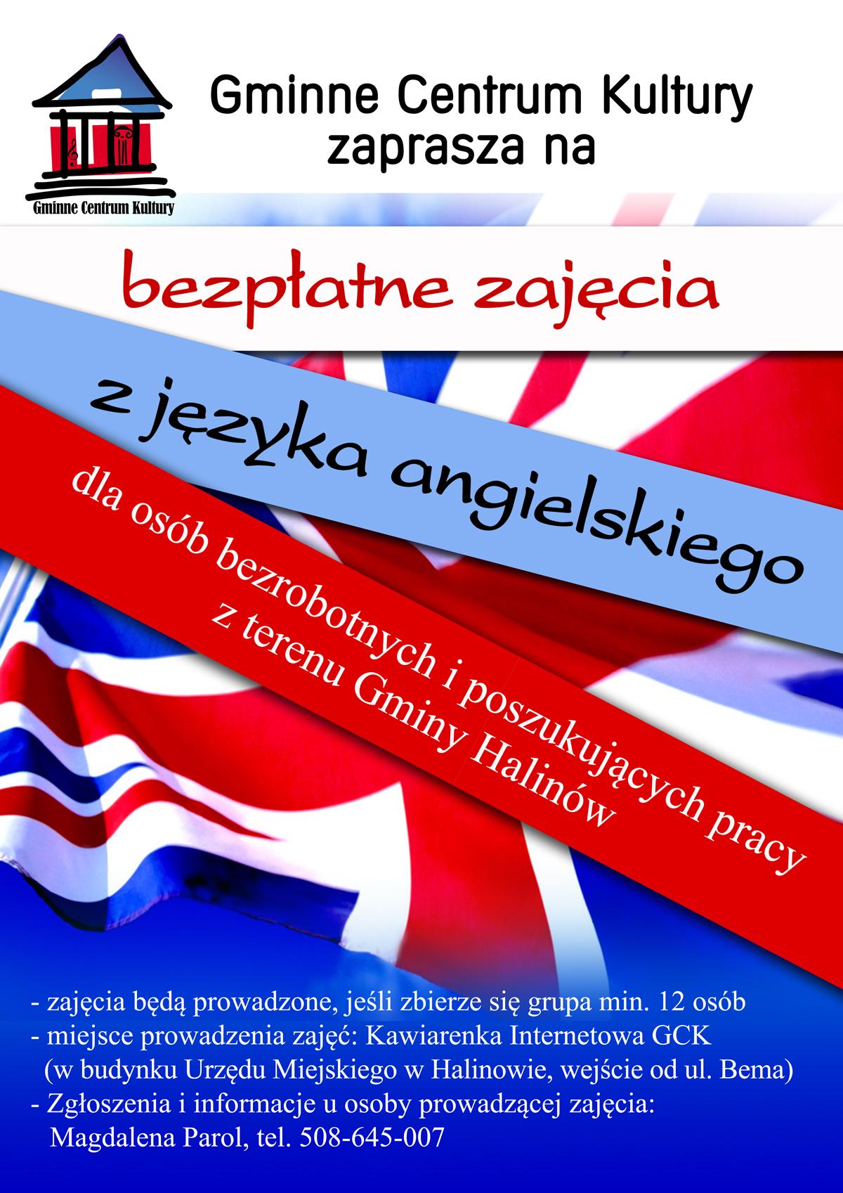 Bezpłatne Zajęcia Z Języka Angielskiego W Gck Gminne