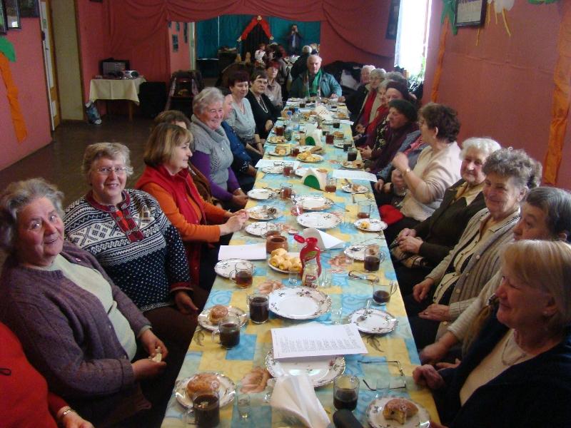 Spotkanie karnawałowe Klubu Seniorów I Halinów
