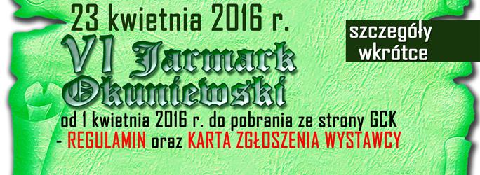 baner zwiastun Wystawcy Jarmarku 2016