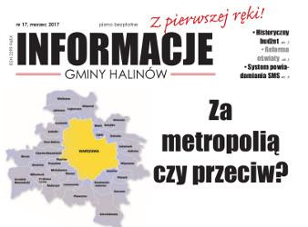 Informacje Gminy Halinów NR 17 - 2017