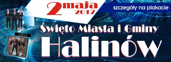 Święto Miasta i Gminy Halinów – 2 maja 2017 – Zapraszamy