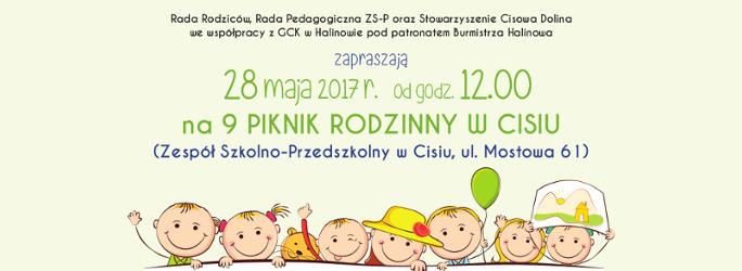 9 Piknik rodzinny w Cisiu – 28 maja 2017 r.