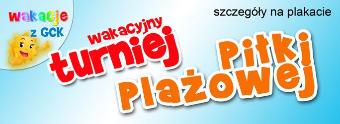 Wakacyjny Turniej Piłki Plażowej – zapraszamy!