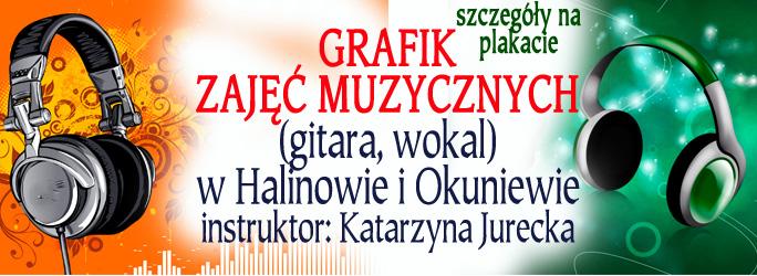 Grafik zajęć muzycznych – instr. Katarzyna Jurecka
