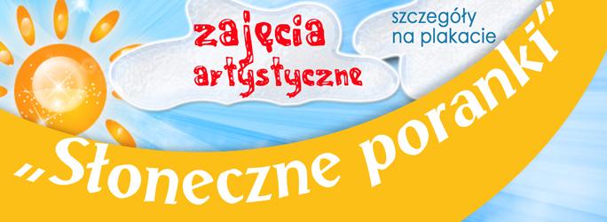 """""""Słoneczne poranki"""" – zajęcia artystyczne"""