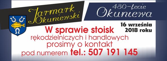 480-lecie Okuniewa i Jarmark Okuniewski – 16 września 2018 r.