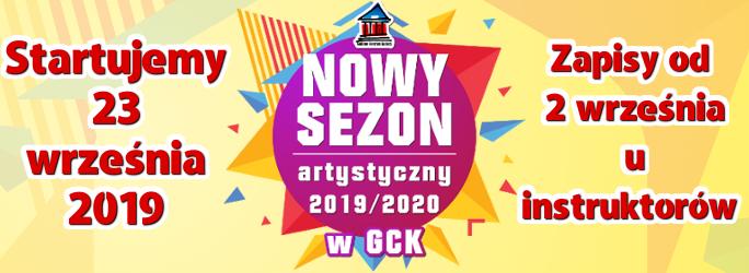 Nowy Sezon artystyczny 2019/2020 – Startujemy 23 września 2019 !