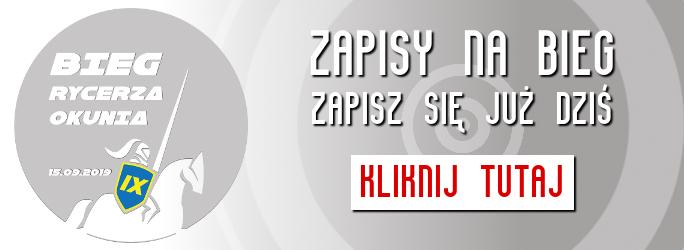 IX Bieg Rycerza Okunia AD 2019 – ZAPISY NA BIEG