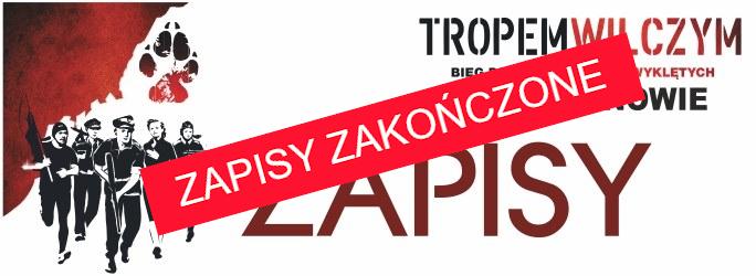 """VIII Bieg Pamięci Żołnierzy Wyklętych """"Tropem Wilczym"""" w Halinowie – 1 marca 2020 r. godz. 12.00"""