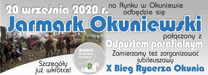 Jarmark Okuniewski połączony z Odpustem parafialnym – 20 września 2020 r.